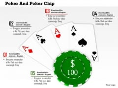Stock Photo Background Of Poker Game PowerPoint Slide