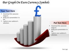 Stock Photo Bar Graph With Pound Currency Symbol PowerPoint Slide