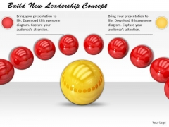 Stock Photo Build New Leadership Concept PowerPoint Template