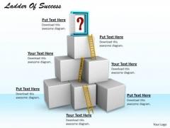Stock Photo Building Blocks Of Success PowerPoint Slide