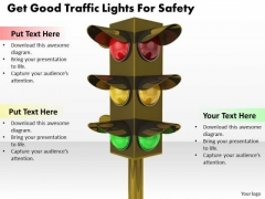 Stock Photo Business And Strategy Get Good Traffic Lights For Safety Icons Images