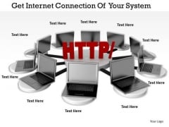 Stock Photo Business And Strategy Get Internet Connection Of Your Systems Icons Images