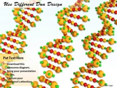 Stock Photo Business And Strategy Use Different Dna Design Icons