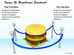 Stock Photo Business Concepts Image Of Hamburger Sandwich Stock Images