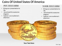 Stock Photo Business Development Strategy Coins Of United States America Images Photos