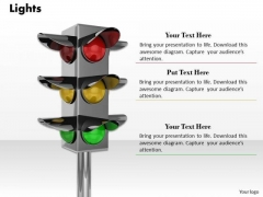 Stock Photo Business Development Strategy Use Traffic Lights For Safety Success Images
