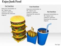 Stock Photo Business Expansion Strategy Enjoy Junk Food Photos