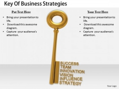 Stock Photo Business Expansion Strategy Key Of Strategies Pictures