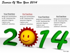 Stock Photo Business Expansion Strategy Sunrise Of New Year 2014 Images And Graphics