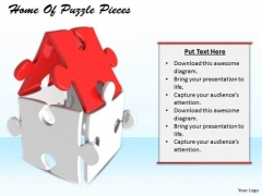 Stock Photo Business Growth Strategy Home Of Puzzle Pieces Image