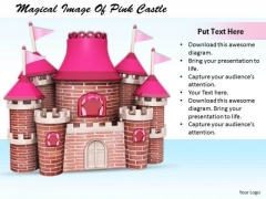 Stock Photo Business Integration Strategy Magical Image Of Pink Castle Images And Graphics