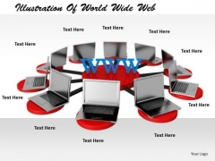 Stock Photo Business Intelligence Strategy Illustration Of World Wide Web Clipart