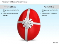 Stock Photo Business Level Strategy Concept Of Easter Celebrations Icons