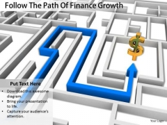 Stock Photo Business Level Strategy Definition Follow The Path Of Finance Growth Icons