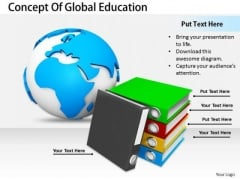 Stock Photo Business Plan And Strategy Concept Of Global Education Best