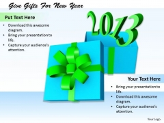 Stock Photo Business Plan And Strategy Give Gifts For New Year Clipart