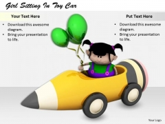 Stock Photo Business Process Strategy Girl Sitting Toy Car Images Photos