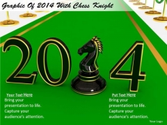 Stock Photo Business Process Strategy Graphic Of 2014 With Chess Knight Success Images