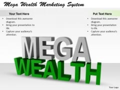 Stock Photo Business Process Strategy Mega Wealth Marketing System Icons Images