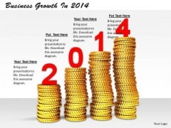 Stock Photo Business Strategy Concepts Growth 2014 Icons Images