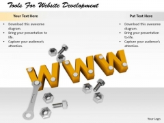 Stock Photo Business Strategy Concepts Tools For Website Development Images Photos
