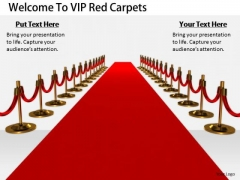 Stock Photo Business Strategy Concepts Welcome To Vip Red Carpets Image