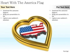 Stock Photo Business Strategy Consulting Heart With The America Flag Images