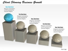 Stock Photo Business Strategy Development Chart Showing Growth