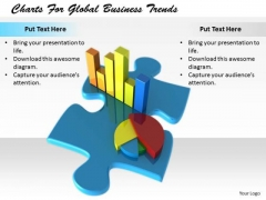 Stock Photo Business Strategy Development Charts For Global Trends