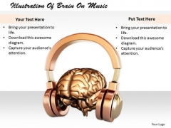 Stock Photo Business Strategy Execution Illustration Of Brain Music