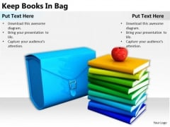 Stock Photo Business Strategy Execution Keep Books Bag Best Photos