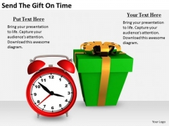 Stock Photo Business Strategy Execution Send The Gift Time Stock Photo Pictures Images