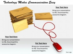 Stock Photo Business Strategy Execution Technology Makes Communication Easy Icons Images