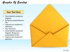 Stock Photo Business Strategy Graphic Of Envelop Image