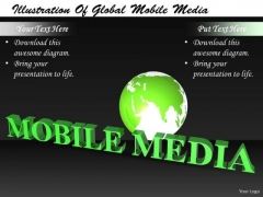Stock Photo Business Strategy Implementation Illustration Of Global Mobile Media Images And Graphics