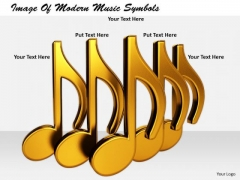 Stock Photo Business Strategy Implementation Image Of Modern Music Symbols