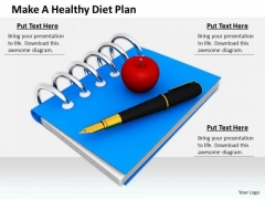 Stock Photo Business Strategy Innovation Make Healthy Diet Plan Images