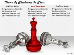 Stock Photo Business Strategy Innovation Theme Of Checkmate Chess Best