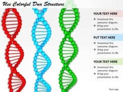 Stock Photo Business Strategy Model Use Colorful Dna Structure Photos