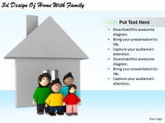 Stock Photo Business Strategy Plan 3d Design Of Home With Family Clipart Images