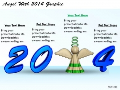 Stock Photo Business Strategy Plan Angel With 2014 Graphic Images Photos