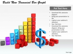 Stock Photo Business Strategy Plan Build New Financial Bar Graph Success Images