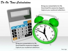 Stock Photo Business Strategy Plan Template Do On Time Calculation Images