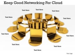Stock Photo Business Strategy Plan Template Keep Good Networking For Cloud