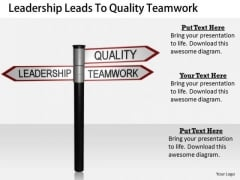 Stock Photo Business Strategy Plan Template Leadership Leads To Quality Teamwork Clipart Images