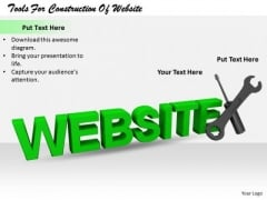 Stock Photo Business Strategy Plan Template Tools For Construction Of Website Pictures Images