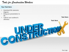 Stock Photo Business Strategy Plan Template Tools For Construction Workers Pictures Images