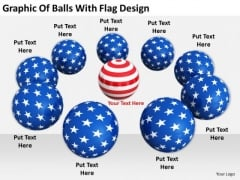 Stock Photo Business Strategy Review Graphic Of Balls With Flag Design Stock Photo Icons Images