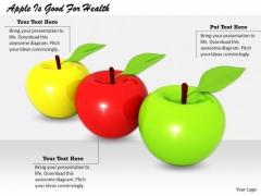 Stock Photo Business Unit Strategy Apple Is Good For Health Pictures Images