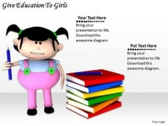 Stock Photo Business Unit Strategy Give Education To Girls Images Photos